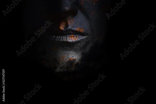 Photo volto del buio
