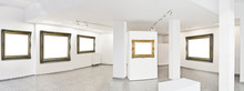 Panoramic View Of A Exhibition...