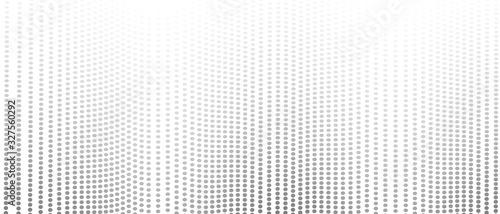 Valokuva Dotted undulating lines