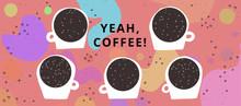 Horizontal Coffee Banner