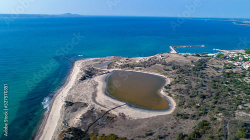 Photo Dalyan Ancient port view from above