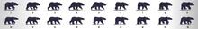 Bear Walk Cycle Animation Fram...