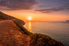 Sunrise On The Island Of Crete...