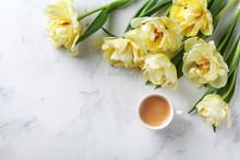 Morning Coffee And Beautiful B...