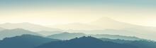 Mountain Morning Landscape Pan...