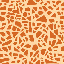 Giraffe Texture Pattern Seamle...