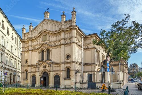 Foto Tempel Synagogue, Krakow, Poland