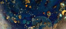 Macro Mystical Abstract Blue C...