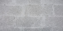 Grey Brick Cinder Block Wall B...