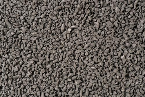 Granelli di plastica riciclata grigia Wallpaper Mural