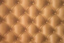 Golden Leather Texture Backgro...