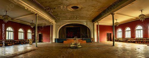 Photo Lost Place  Saal