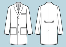 Medical Doctor Working Robe. F...