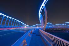 Meydan Bridge And Street Road ...
