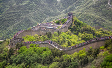 Panorama Of Great Wall Of Chin...