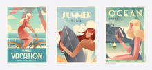 Retro Design Summer Holiday An...