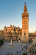 Giralda in the city of Seville in Andalusia, Spain.