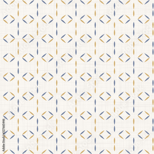Photo Seamless chevron stripe pattern in french blue linen shabby chic style