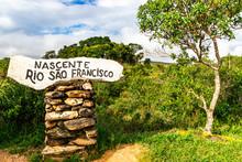 Nascente Do Rio São Francisco...