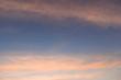 colorful cloud above dramatic dusk sky