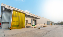 New Logistics Centre For Food Warehouse Freezer