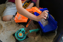 Child Boy Play Construction Ve...