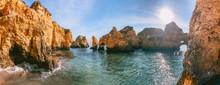 Algarve Coast And Beaches In P...