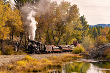 The Historic Sumpter Valley Railroad In Central Oregon