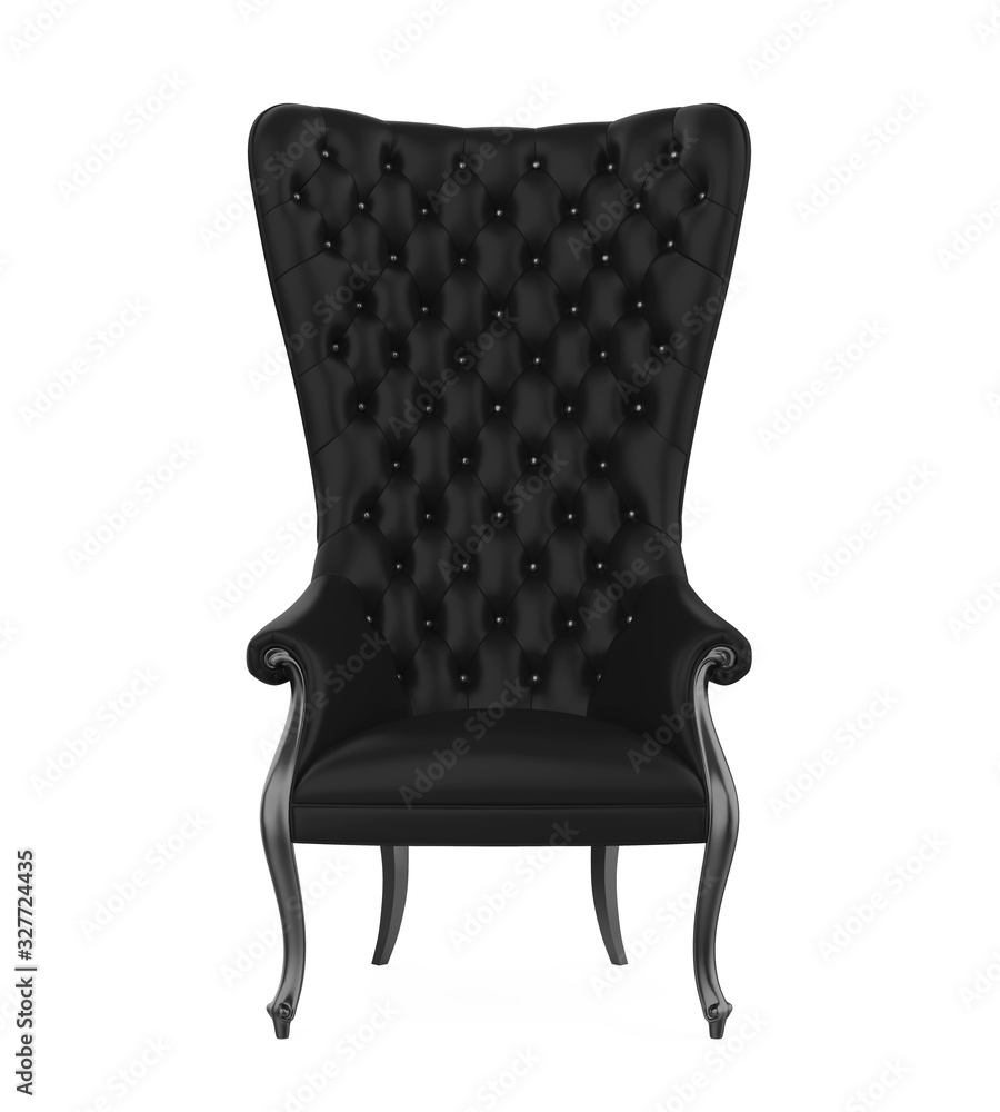 Fototapeta Throne Chair Isolated