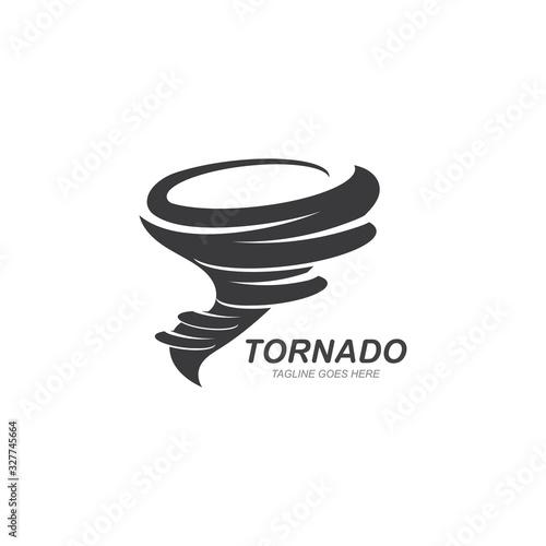 Fotografie, Obraz Tornado symbol vector illustration