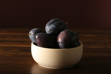 Prune Plum Is On The Table
