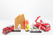 Toys Staff Are Fighting Fire, ...