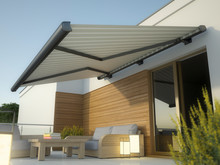 Awning And House Terrace, 3D I...