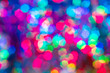 canvas print picture elegant bokeh background. Seasonal cooling light decorative abstract