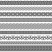 Celtic Vector Semaless Border ...
