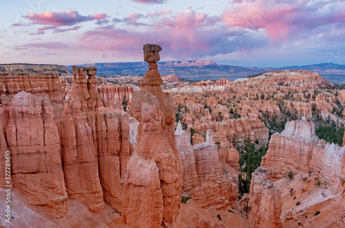 Fotografia Beautiful Landscape of  Bryce Canyon, Utah,  USA