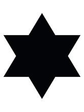 Vector Illustration Of Star Of David Icon