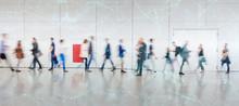 Digitale Vernetzung Von Geschäftsleuten Als Konzept