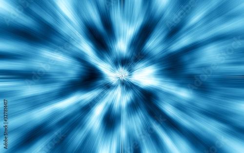 Fotografie, Obraz スピード感を表現したイラスト