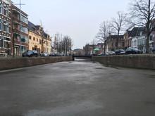 Frozen Canals In Groningen, Ne...