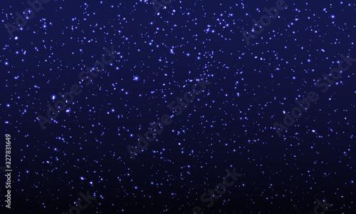 Fototapeta Space Stars Background. Vector Illustration