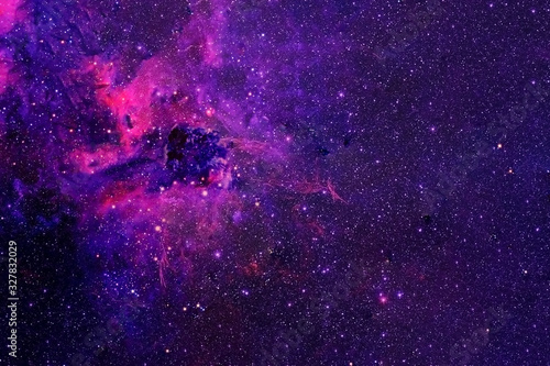 Fantastic galaxy in deep space with stars. Elements of this image were furnished by NASA.