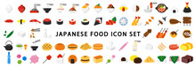 Big Set Of Japanese Food Icon
