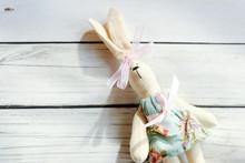 Easter Bunny Handmade, Rag Dol...