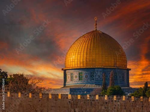 Fotografía Dome of the Rock in Jerusalem, Israel
