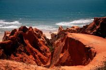 Falésias De Areias Coloridas