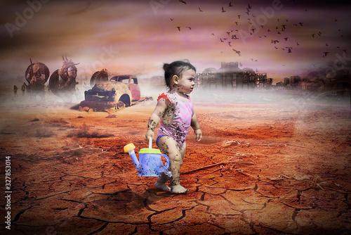 salvar al planeta antes que sea tarde Canvas Print