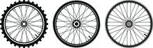 Tre Tipi Di Ruota Di Biciclett...