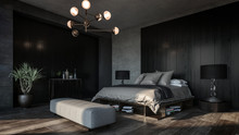 Design Of Luxury Bedroom With ...