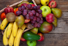 Fruit Basket With Place For Te...